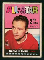 NORM ULLMAN  ALL STAR 1967-68 TOPPS 1967-68  NO 132 VGEX+EX 24553