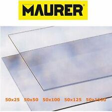 Vetro sintetico trasparente pretagliato finto vetro lastra 2 mm Varie Misure