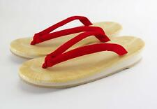 Japanese Traditional Sandals Zori Setta for Ladies Red Size 24cm from Japan
