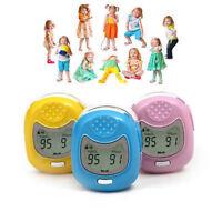 Kids/Pediatric Finger Pulse Oximeter SpO2 Heart Rate Meter Blood Oxygen Monitor