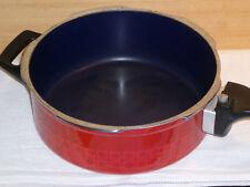 Silit Silitherm Schnellkoch-Pfanne 2,5 L, Stahl-Emaille rot, Energiesparboden
