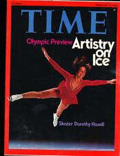 1976  2/2 Time magazine Dorthy Hamill Ice Skating Olympics