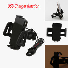 USB Charger Cell Phone Holder for Harley V-Rod Fatboy Heritage Softail Classic
