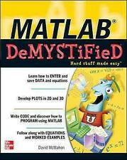 Matlab Demystified, Paperback by McMahon, David, Brand New, Free P&P in the UK