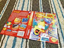 BOX ART ONLY Krusty's Super Fun House Simpsons Original Sega Genesis Case Sleeve