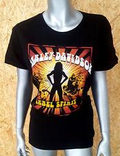 Harley Davidson Damen T-Shirt Gr.XL kurzarm Schwarz Neu