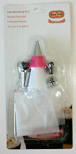 Nozzle Set, 5 Nozzles + Piping Bag, Piping Set, Sugarcraft, Cake Decorating