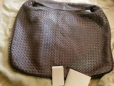 NEW Bottega Veneta Intrecciato Nappa Leather Large Hobo in Brown Retail $2600