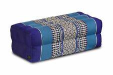 Thaikissen Meditationskissen Kapok Kissen Block blau Yoga Stützkissen Thai Style