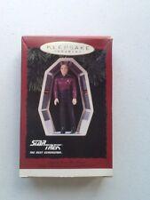Star Trek Next Generation Hallmark Keepsake Ornament Captain Picard Great!