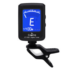 LED Clip-on Electronic Digital Guitar Tuner Chromatic Bass Violin Ukulele Tuner