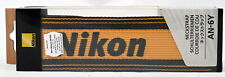 Original Nikon AN-6Y Camera Shoulder Straps - Brand New