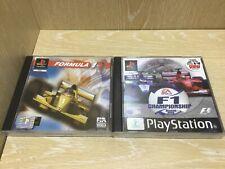Fórmula 1 + F1 campeonato temporada 2000 PS1 PlayStation 1 Juegos En Caja Probado