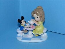 Precious Moments Disney Belle w/ Mickey Mouse Friendship is our Special-Tea
