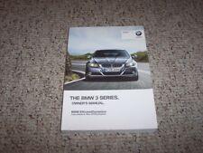 2012 BMW 3 Series 328i 335i Sedan Owner Owner's Manual User Guide 2.0L 3.0L