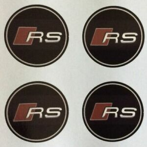 4x 65 mm fits rs wheel STICKERS center badge centre trim cap hub alloy