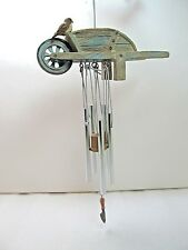 Hallmark Marjolein Bastin Nature's Sketchbook Wheelbarrow & Bird Wind Chime NWT
