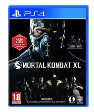 NEW & SEALED! Mortal Kombat XL Sony Playstation 4 PS4 Game