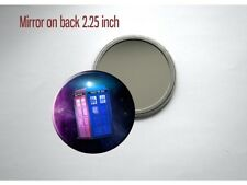 Doctor Who TARDIS BBC Space (Style A) Pocket/Purse Mirror
