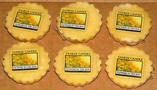 Yankee Candle Set of 6 Flowers in the Sun Wax Melt Tarts New 1351662