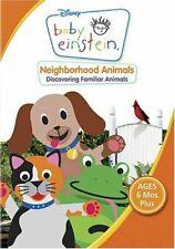 BABY EINSTEIN: NEIGHBORHOOD ANIMALS (DISNEY) *USED DVD*