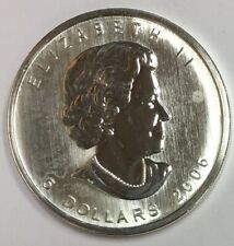 2006 Canada $5 Maple Leaf .999 Fine Silver Five Dollar BU