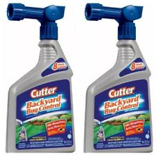 2 Cutter Backyard Bug Control Spray Concentrate (32 fl oz) Ready-to-Spray New