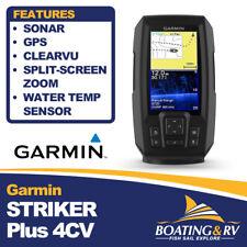 Garmin STRIKER Plus 4cv Sonar/GPS/ClearVü | Fast & Free Shipping