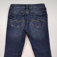 Women's Silver Aiko Boot Cut Jeans Size 27x30 PCR8