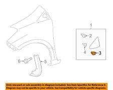TOYOTA OEM 12-18 Yaris Fender-Upper Seal Retainer Clip 5579952020