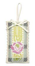 Sachet incd. Lavender  Scottish Cross Stitch Kit; 'MacKintosh Rose' by Textile H