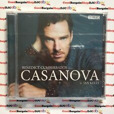 Benedict Cumberbatch Reads Ian Kelly's Casanova (CD-Audio, 2015) *New & Sealed*