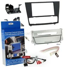 BMW 3 SERIES E91 Automatic Air Conditioning 05-12 2-DIN Radio Installation Kit