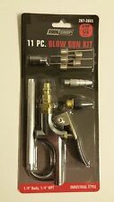Tool Shop 11 pc. blow gun kit 1/4 in. body 1/4 in. Npt Industrial Style 207-2665