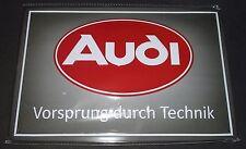 Audi Blechschild Blech Schild Typ 81 85 B2 Coupe Urquattro V8 D11 D2 Uri NEU!