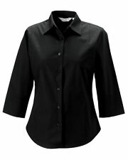 Women's Classic Collar Cotton Waist Length Tops & Shirts