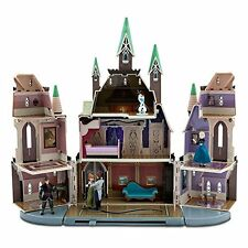 Disney Store Frozen Castle of Arendelle Play Set + Anna/Elsa/Hans/Kristoff/Olaf