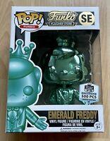 Funko Pop! Emerald Green Freddy Funko HQ Exclusive 500pcs Limited Rare Grail