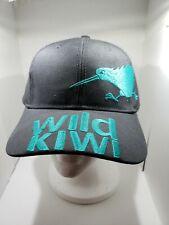 Wild Kiwi Adventure New Zealand Hat adjustable fit gray NWT
