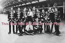 ST 91 - Staff At Wolverhampton Roller Skating Rink, Staffordshire - 6x4 Photo