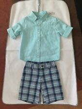 NWOT Janie And Jack Boys Outfit Size 4T