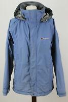 BERGHAUS Blue Windbreaker Jacket size Uk 12