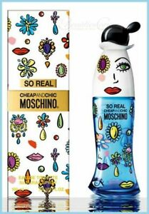 Moschino - Cheap and Chic - So Real - 100ml EDT - Neu / OVP in Folie