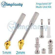 Angular 30° Multi Unit Abutment Dental Internal Hex 2.42mm Titanium Kit