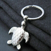 New Cute Silver Metal Turtle Tortoise Keyrings Keychain Collec Ch Gift Z6G4 G5L1