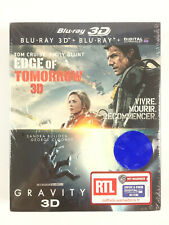 Edge of Tomorrow 3D + Gravity 3D Coffret Blu Ray Neuf