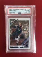 2019 Panini Donruss Optic Basketball Luka Doncic #16 PSA 10 MAVERICKS GEM MINT