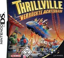 Nintendo DS 3DS THRILLVILLE VERRÜCKTE ACHTERBAHN Rollercoaster Tycoon TopZustand