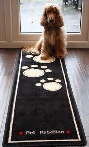 Pet Rebellion - Runner - Stylish & Fun Floor Mat Dog Cat Paw Print Republic