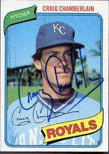 1980 Topps Craig Chamberlain #417 Baseball Card